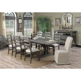 Paladin Rustic Charcoal Dining Room Set from Emerald Home ...