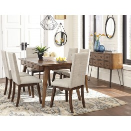 Centiar Two-tone Brown Rectangular Dining Room Set