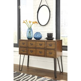 Centiar Two-Tone Brown Dining Room Server