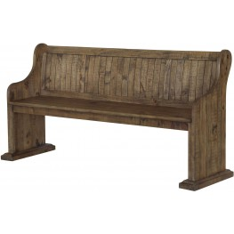 Willoughby Weathered Barley Bench