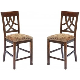 Leahlyn Upholstered Counter Stool Set of 2
