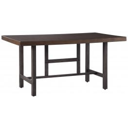 Kavara Medium Brown Rectangular Dining Table