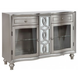 Regency Park Pearlized Platinum Sideboard