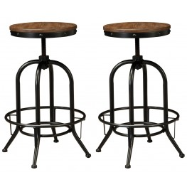 Pinnadel Tall Swivel Stool Set of 2