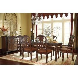 north shore rectangular extendable dining room set - North Shore Living Room Set