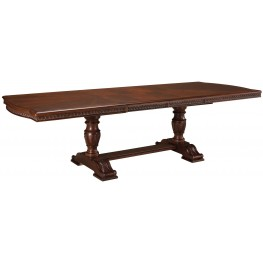 North Shore Double Pedestal Extendable Dining Table