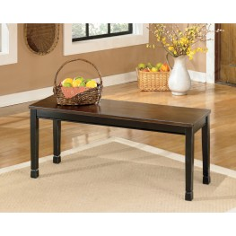 Owingsville Large Dining Room Bench