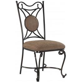 Brulind Brown Dining Upholstered Side Chair Set of 4