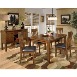 Ralene Rectangular Extendable Dining Room Set