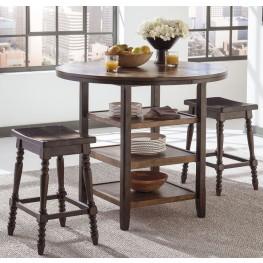 Moriann Round Counter Dining Room Set