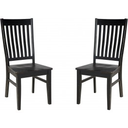 Clayco Bay Gray Dining Room Side Chair Set of 2