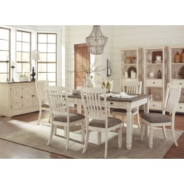 Bolanburg White and Gray Rectangular Dining Room Set  sc 1 st  Coleman Furniture & Bolanburg White and Gray Rectangular Dining Room Set from Ashley ...