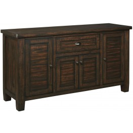 Trudell Dark Brown Dining Room Server