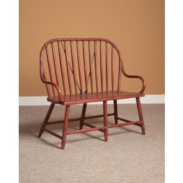 New Bedford Red Windsor Bench
