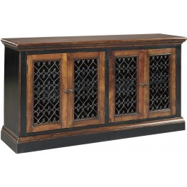 Zurani Brown and Black Dining Room Server