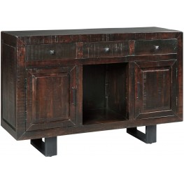 Parlone Dark Brown Dining Room Server