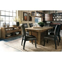 Sommerford Brown Rectangular Dining Room Set