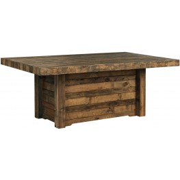 Sommerford Brown Rectangular Dining Room Table