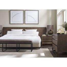 Dalton Nutmeg Platform Bedroom Set