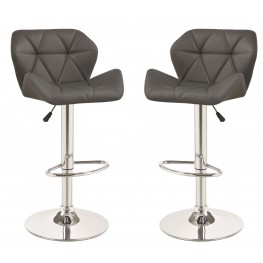 100426 Gray Adjustable Bar Stool Set Of 2 · By Coaster Furniture
