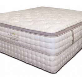 "King Koil 15"" Euro Pillow Top Twin Mattress"