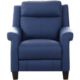 Dolce Blue Power Recliner with Power Headrest