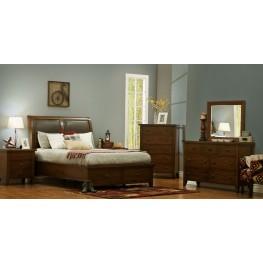 Del Prado Madeira Panel Bedroom Set