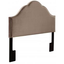 Glam Velvet King Upholstered Headboard