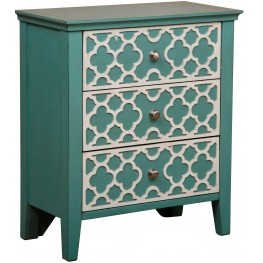 Seafoam Drawer Cabinet