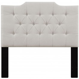 Linen Full/Queen Upholstered Panel Headboard