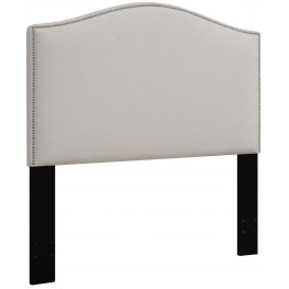 Linen King/Cal. King Nailhead Upholstered Headboard