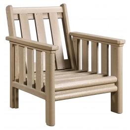 Stratford Beige Deep Seating Chair Frame