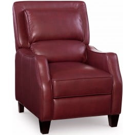 Duncan Belmont Red Recliner