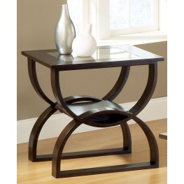 Dylan Merlot Cherry End Table