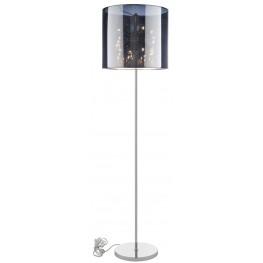 Arena Silver Floor Lamp