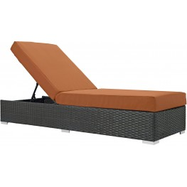Sojourn Canvas Tuscan Outdoor Patio Sunbrella Chaise Lounge