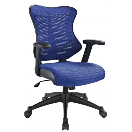 Clutch Blue Office Chair