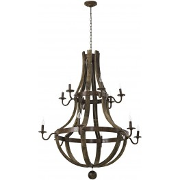 Trebuchet Brown Chandelier