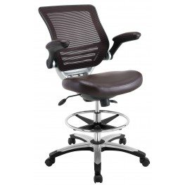 Edge Brown Drafting Chair