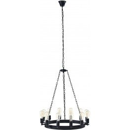 "Teleport Brown 29"" Chandelier"