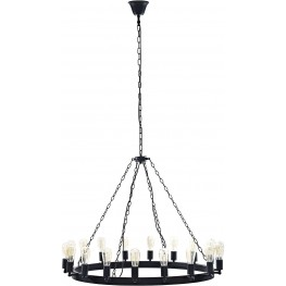 "Teleport Brown 43"" Chandelier"
