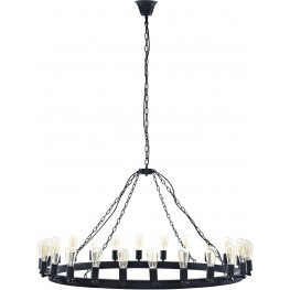 "Teleport Brown 52"" Chandelier"