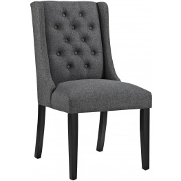 Baronet Gray Upholstered Dining Chair