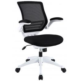 Edge Black White Base Office Chair