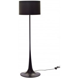 Silk Floor Lamp in Black