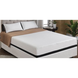 "Cool Jewel Moonlight King 10"" Gel-Memory Foam Mattress"