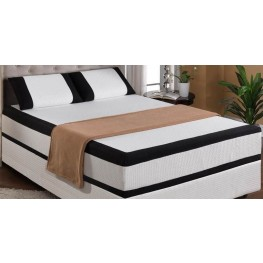 "Cool Jewel Starlight Cal. King 12"" Gel-Memory Foam Mattress"