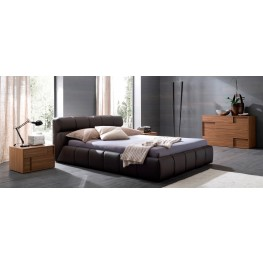 Cloud Brown Bedroom Set