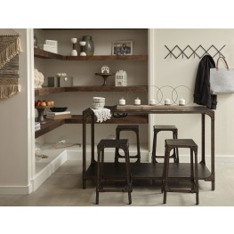 Maywood Industrial Gathering Height Dining Room Set