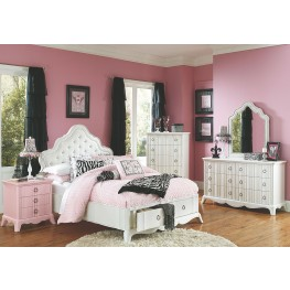 Gabrielle Youth Island Storage Bedroom Set